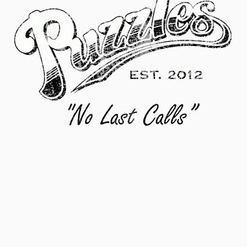 Puzzles Bar (Distressed) Slogan Version by JordanDefty