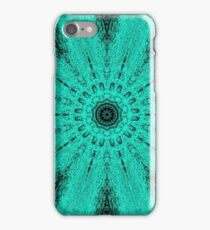Starburst on Steroids - Aqua iPhone Case/Skin