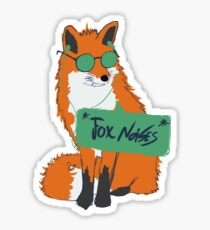 Fox Noises Sticker