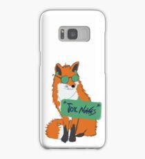 Fox Noises Samsung Galaxy Case/Skin