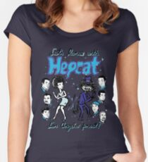 Dance With Hepcat Women's Fitted Scoop T-Shirt