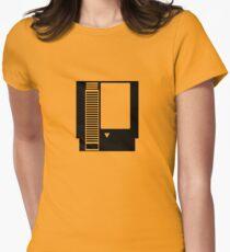 Minimal NES Cartridge Women's Fitted T-Shirt