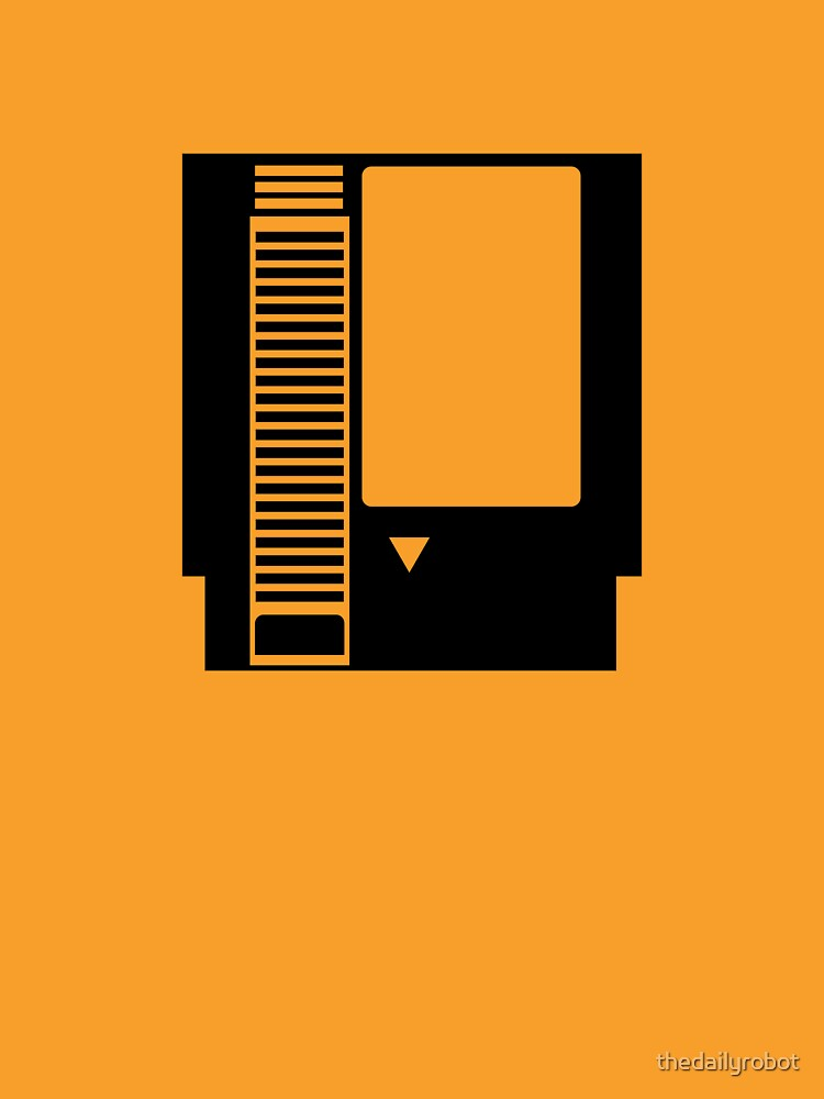 Minimal NES Cartridge by thedailyrobot