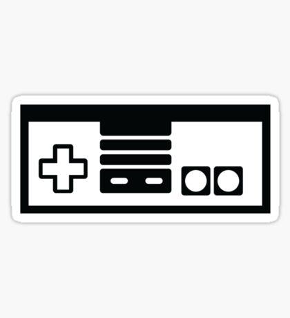 Minimal NES Controller Sticker