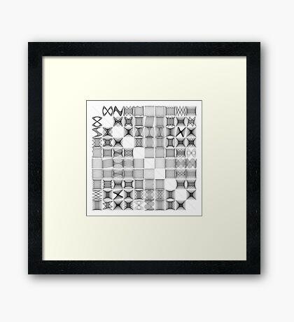 Lissajous XXVIII Framed Print