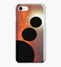 Planetary allignment iPhone Case/Skin