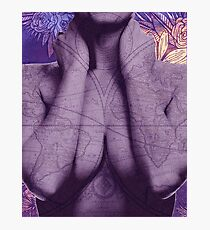 You are the map Photographic Print