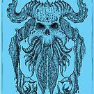 Beast Totem-Blue by ARTmuffin