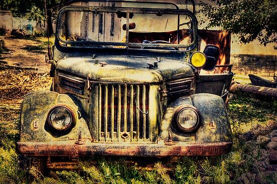 Old Soviet Military Jeep von Kadwell