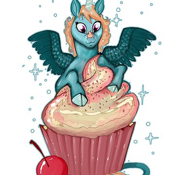 Cupcake Unicorn by Reaperfox