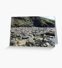 Rocks and Rock Pools Greeting Card
