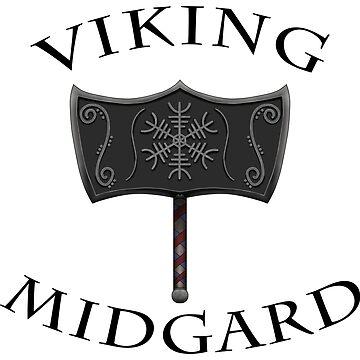 Viking Mjolnir Black by RagDesigns
