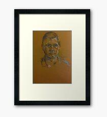 The Frey Boy Framed Print