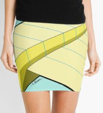 Paper Airplane 10 Mini Skirt