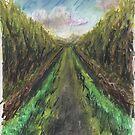 """Woodland walk"" by jedidiah morley"