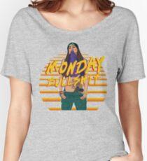 monday bulshit series Women's Relaxed Fit T-Shirt