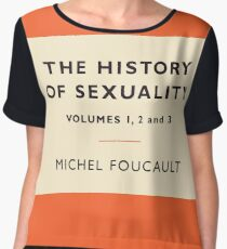 The History of Sexuality Chiffon Top