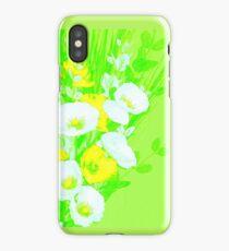A green spray iPhone Case