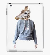 anthropomorphic giraffe - Lane iPad Case/Skin