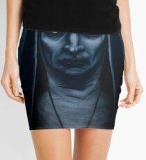 Valak Painting Mini Skirt