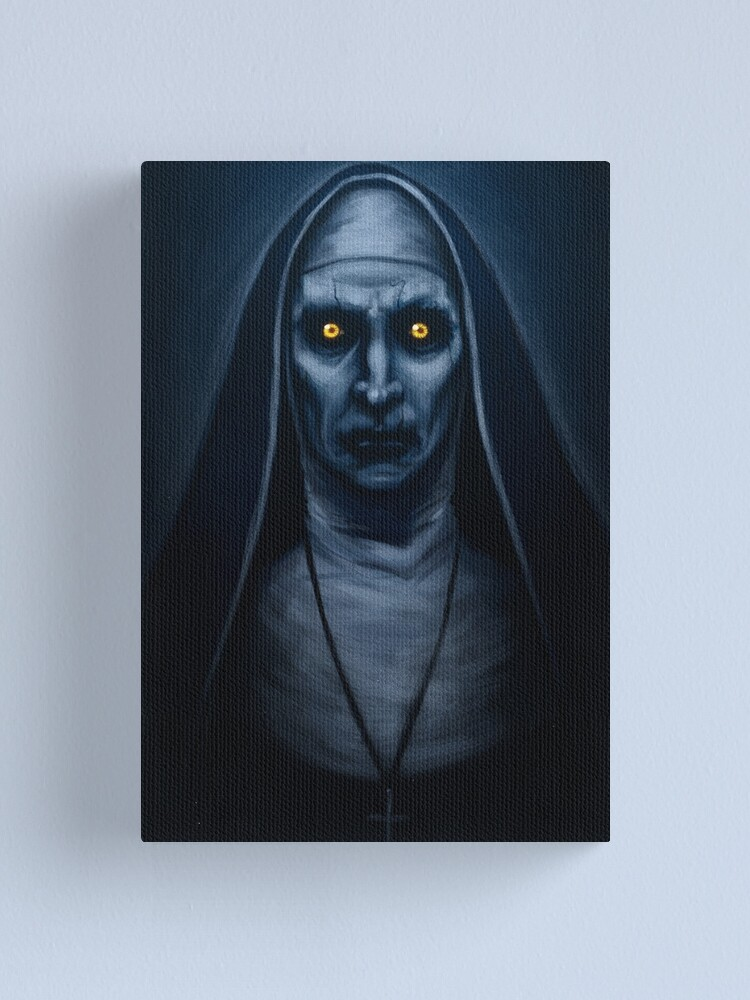 Alternate view of Valak Painting Canvas Print