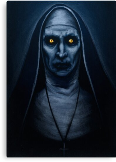 Valak Painting by samRAW08