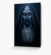 Valak Painting Greeting Card