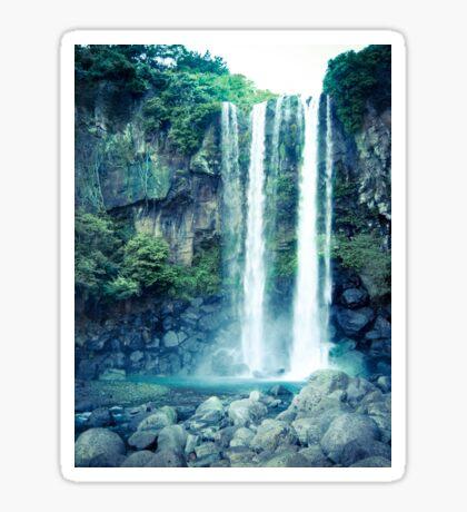 Jeongbang Waterfall Sticker