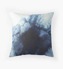 Salt sea Throw Pillow