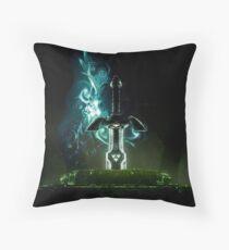 The legend of Zelda - Excalibur Throw Pillow