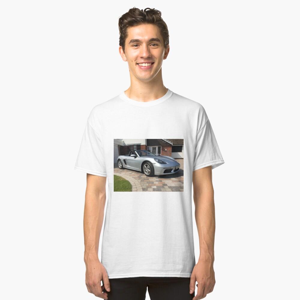 718 Porsche Boxster, front view. Classic T-Shirt