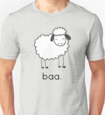 Baa says the sheep. T-Shirt