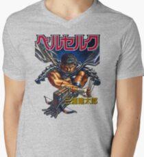Black Swordsman Men's V-Neck T-Shirt