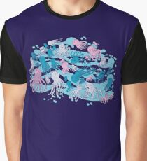octopus party Graphic T-Shirt