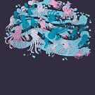 octopus party by frederic levy-hadida