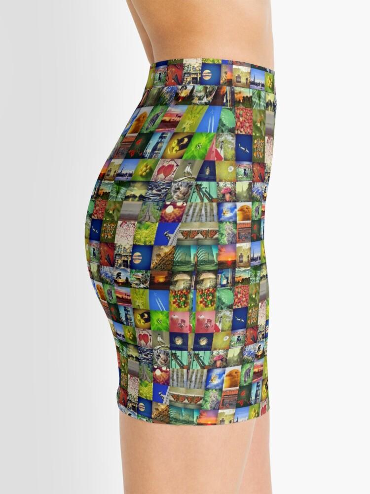 Alternate view of BlackHalt`s Instagram Photos Mini Skirt