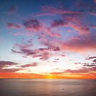 Chapmans Peak Sunset Panoramic by Jared Brain