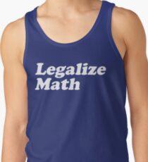 Legalize Math Men's Tank Top