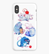 Sweet Rats iPhone Case