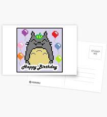 Happy Birthday Totoro Card <3  Postcards