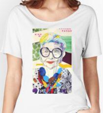Iris Apfel fanart Women's Relaxed Fit T-Shirt