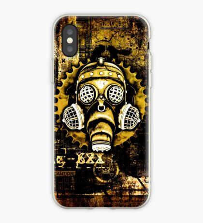 Steampunk / Cyberpunk Gas Mask iPhone Case