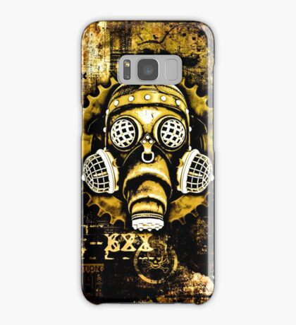Steampunk / Cyberpunk Gas Mask Samsung Galaxy Case/Skin