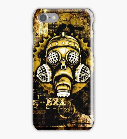 Steampunk / Cyberpunk Gas Mask iPhone Case/Skin