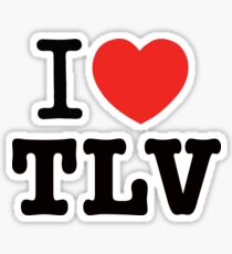 i love Tel Aviv Sticker