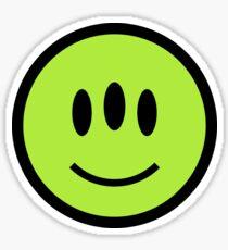 Alien Smiley Sticker