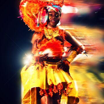 African Dancer by jwalk