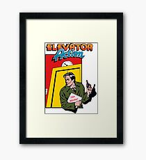 ELEVATOR ACTION TAITO ARCADE Framed Print