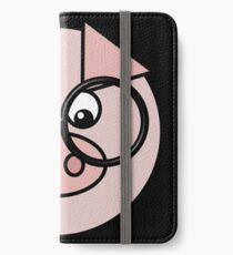 Hipster Pig iPhone Wallet