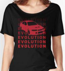 Mitsubishi Evo JDM Car Shirt Women's Relaxed Fit T-Shirt